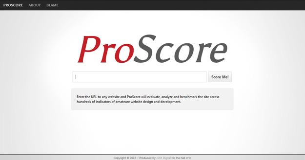 ProScore – a USEFUL Site Scorer